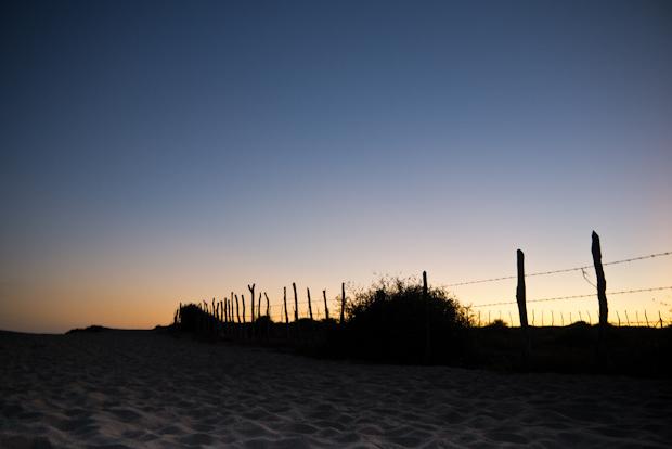 Atardecer en la playa Cachora.