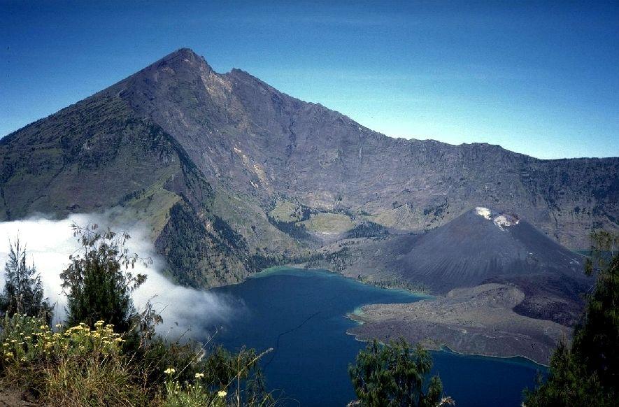 Volcán Gunung Rinjiani (foto: ponty.dk)