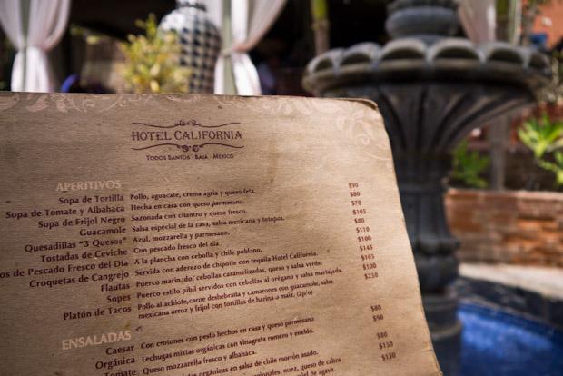 Carta del restaurante La Coronela (precios en pesos).