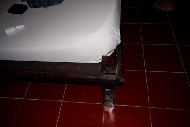Los picos de las camas, asesinas.