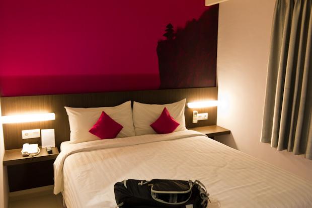 Una buena habitación para descansar del viaje. (Fave Hotel)