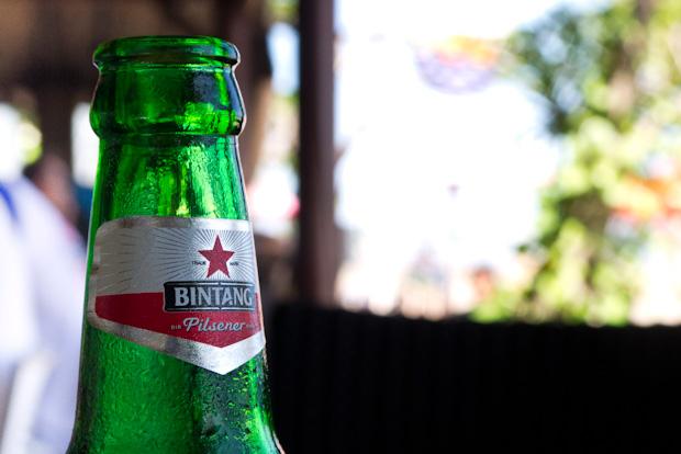 Bintang, la cerveza por excelencia.