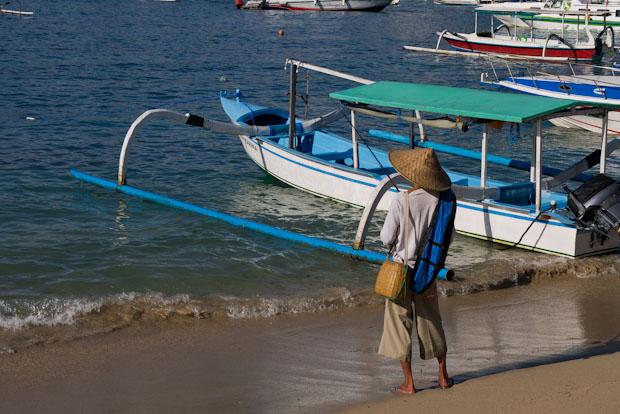 Me quedé con ganas de preguntarle  qué pescaba.