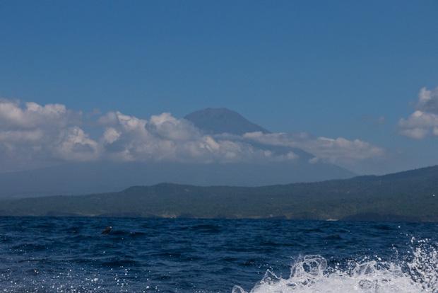 El Gunung Batur, el volcán que dio origen a la isla de Bali.
