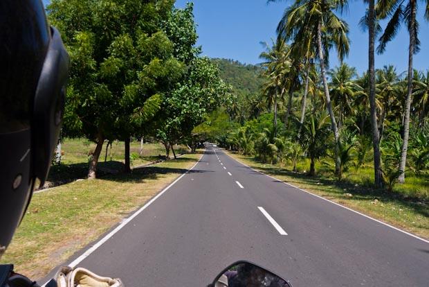 De camino a Senggigi.