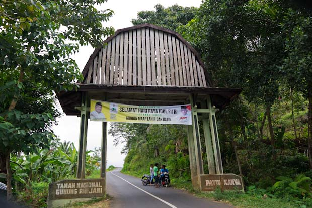 Entrada al parque nacional del Gunung Rinjani (no pases de aquí sin el depósito lleno).