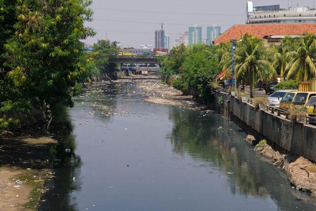 Canal cerca de la zona del puerto.