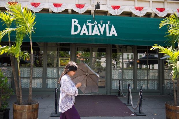 Café Batavia, representante hoy en día de la época colonial portuguesa.
