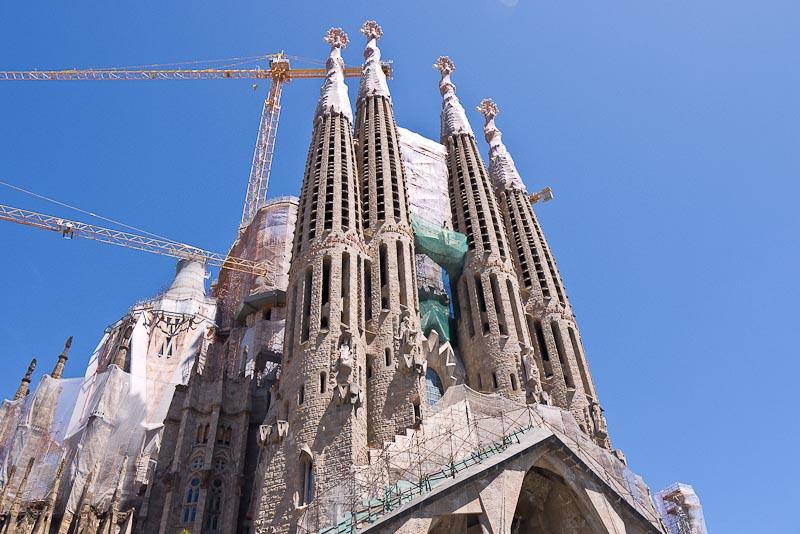 Templo expiatorio de La Sagrada Familia de Gaudí (Barcelona)