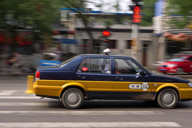 Taxi de Pekín.