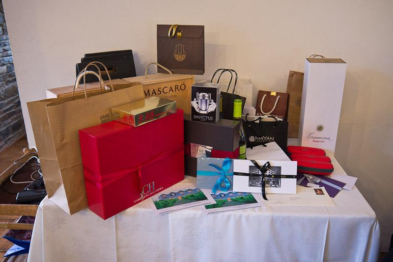 Algunos de los regalos...