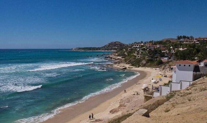 Costa entre Cabo San Lucas y San José del Cabo.