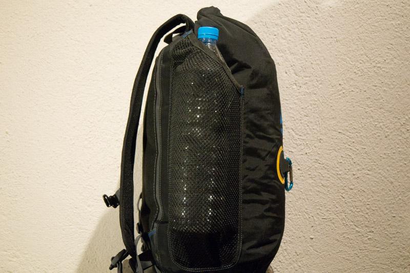 Vista lateral de la bolsa Aquapac 788.