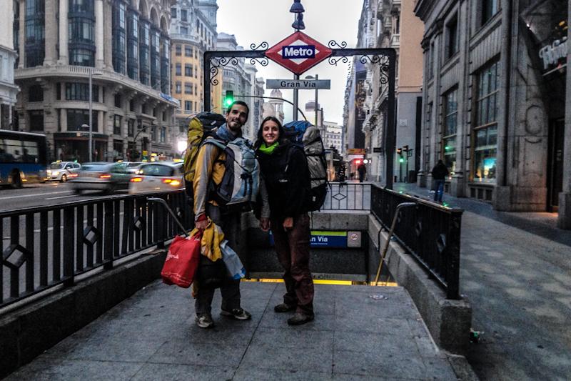 Sara y JAAC a la vuelta de su viaje por Sudamérica.