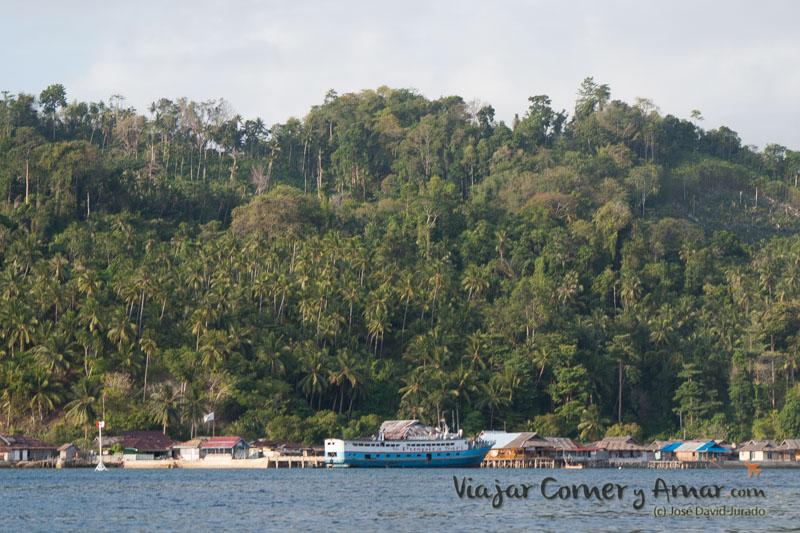 Isla de Katupat.