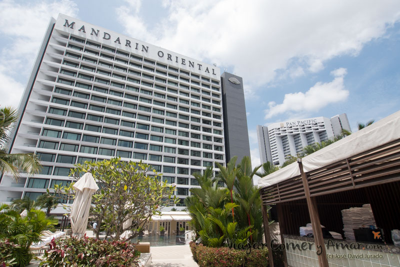 Hotel Mandarin Oriental de Singapur.