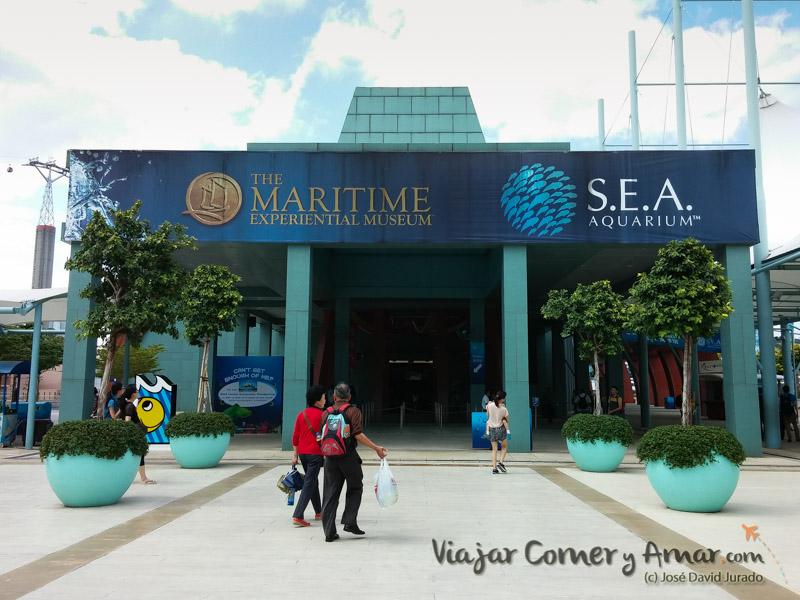 S.E.A. Aquarium, Sentosa (Singapur).