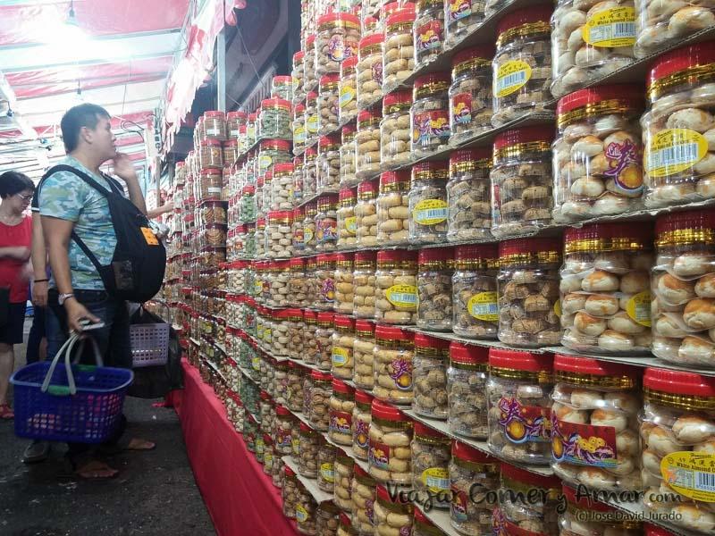 Dulces chinos de año nuevo.