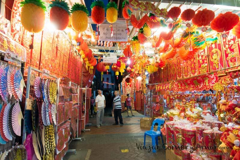 Tienda de objetos de decoración y ofrendas.