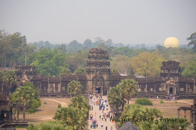 Ta Kou, la puerta de entrada trasera del templo Angkor Wat.