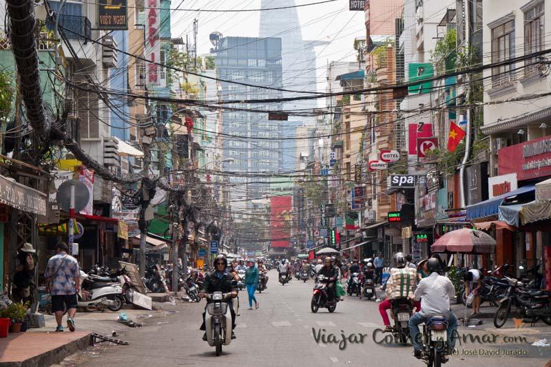 Bui Vien street, Ho Chi Minh City.