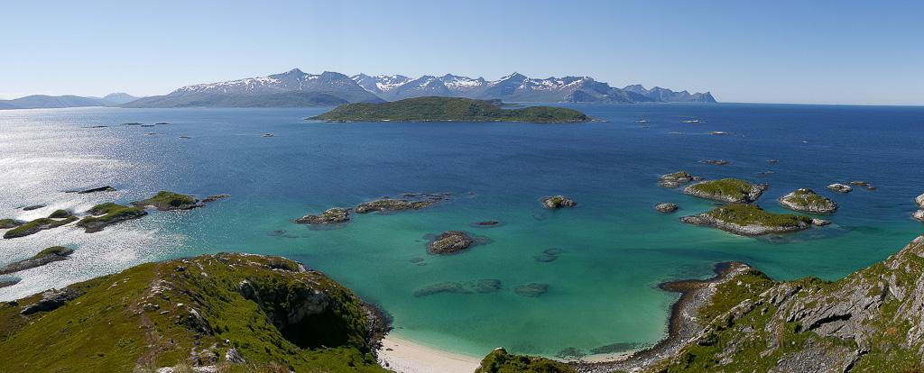 Playas - Laponia Noruega en verano.