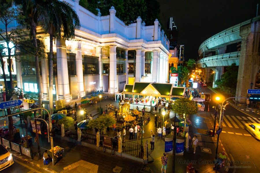 Templo de Erawan Shrin, Bangkok.