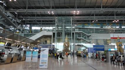 Aeropuerto de Bangkok.