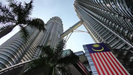 Las Torres Petronas en Kuala Lumpur.
