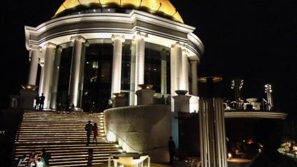La cúpula dorada que sirve de punto de referencia en múltiples puntos de la ciudad.