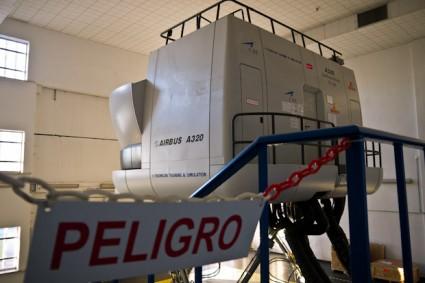 Simulador de vuelo A-320.